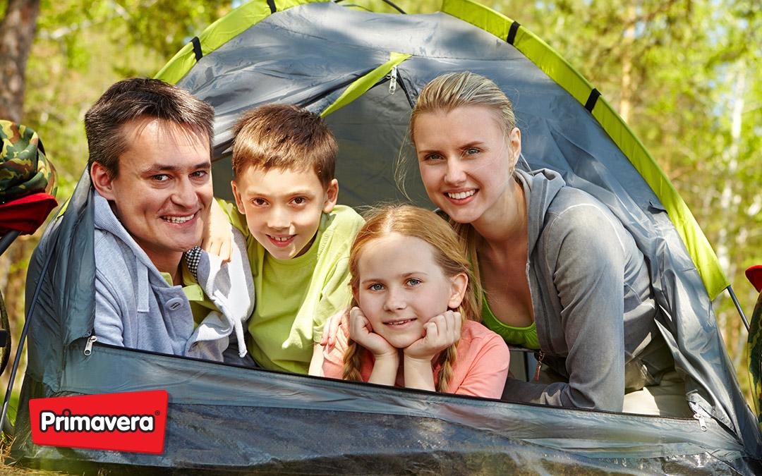 Campamento en familia
