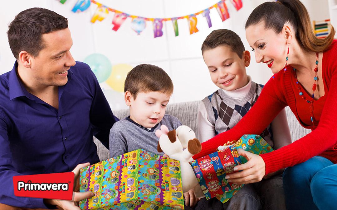 Historia del papel para regalo